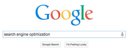 SEO Keyword into Google