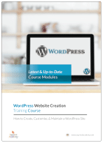 WordPress Course Brochure