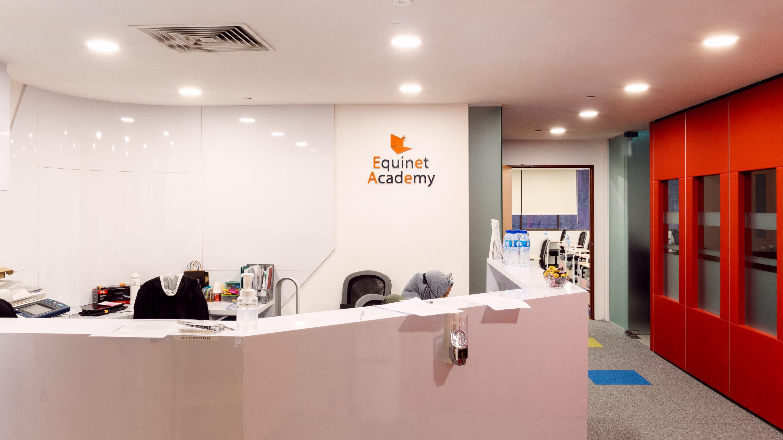 Main Entrance & Front Desk Training Facilities