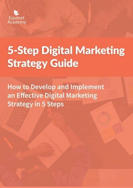 5-Step Digital Marketing Strategy Guide eBook Portrait