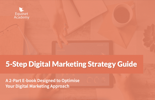 5-step digital marketing strategy guide cover image