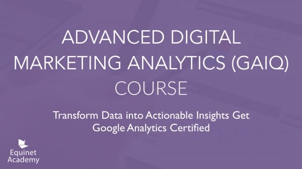 Advanced DMA Course Cover