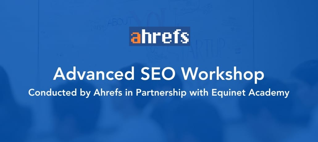 Advanced SEO Workshop Cover Image