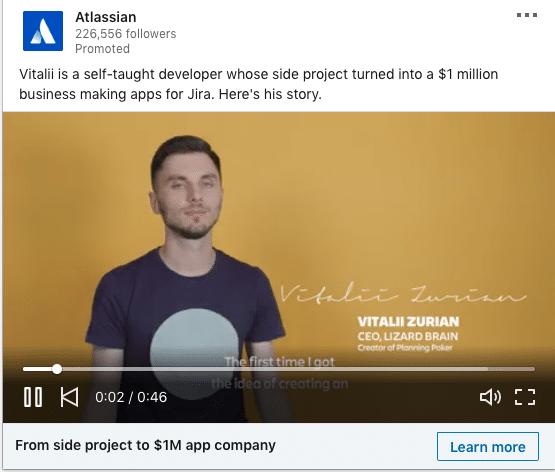 Atlassian ads on Jira Apps