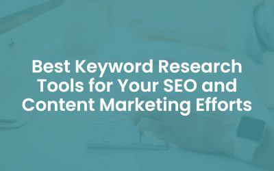10 Best Keyword Research Tools for your SEO and Content Marketing Efforts