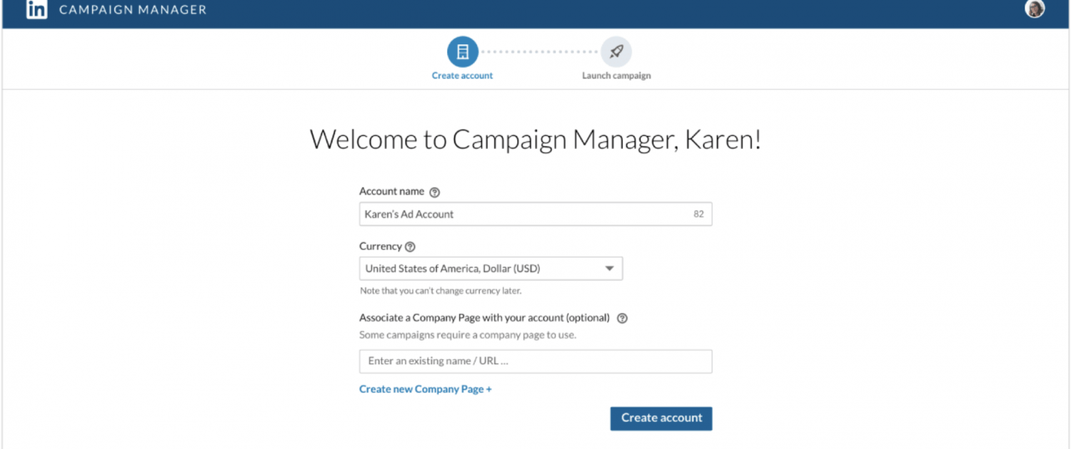linkedin campaign manager tool