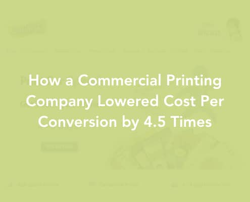 Commercial Printing Firm Digital Marketing Case Study