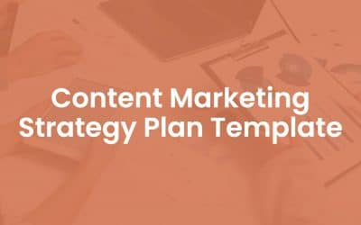 Content Marketing Strategy Plan Template