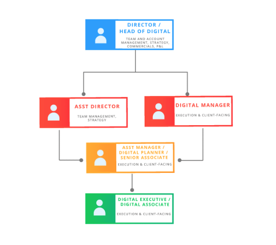 Digital Agency Structure Team