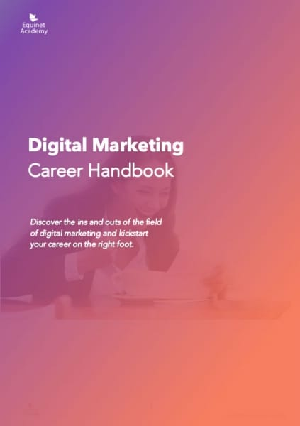 Digital Marketing Career Handbook Cover