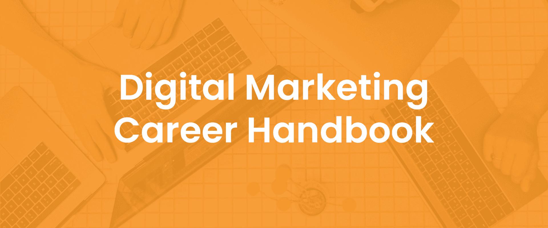 Digital Marketing Career Handbook Cover Image Resources
