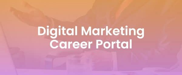 Digital Marketing Career Portal Cover Image Resource Library Cover Image
