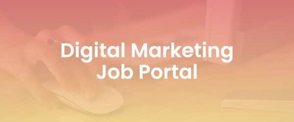 Digital Marketing Job Portal Resource Library Cover Image