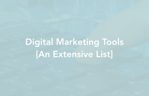 Digital Marketing Tools an extensive list
