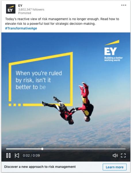 EY ads on risk management