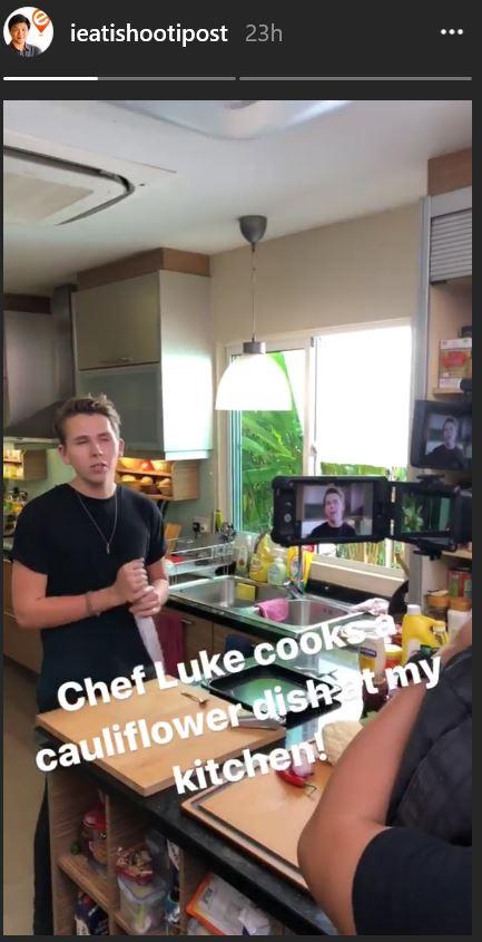 Instagram Stories Shoutout Example
