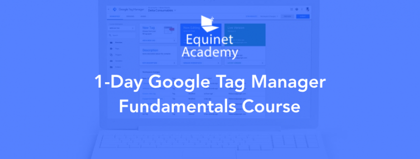 Google Tag Manager Workshop Cover Image