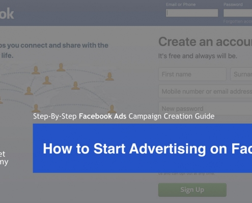 How to start advertising on Facebook cover image