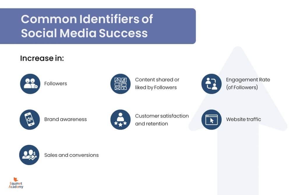 Common identifiers of social media success