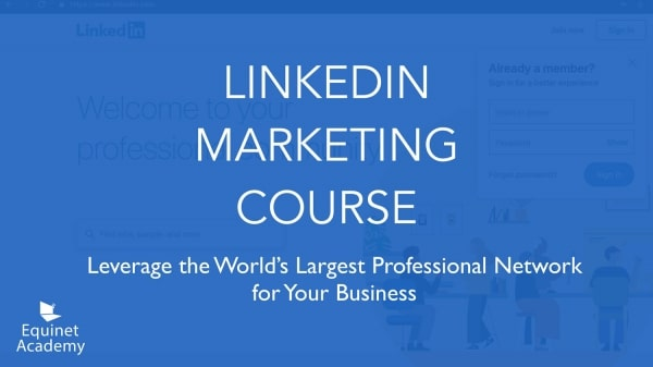 LinkedIn Marketing Course Cover Image