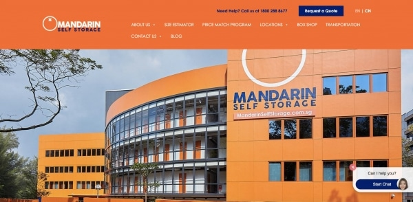 Mandarin Self Storage