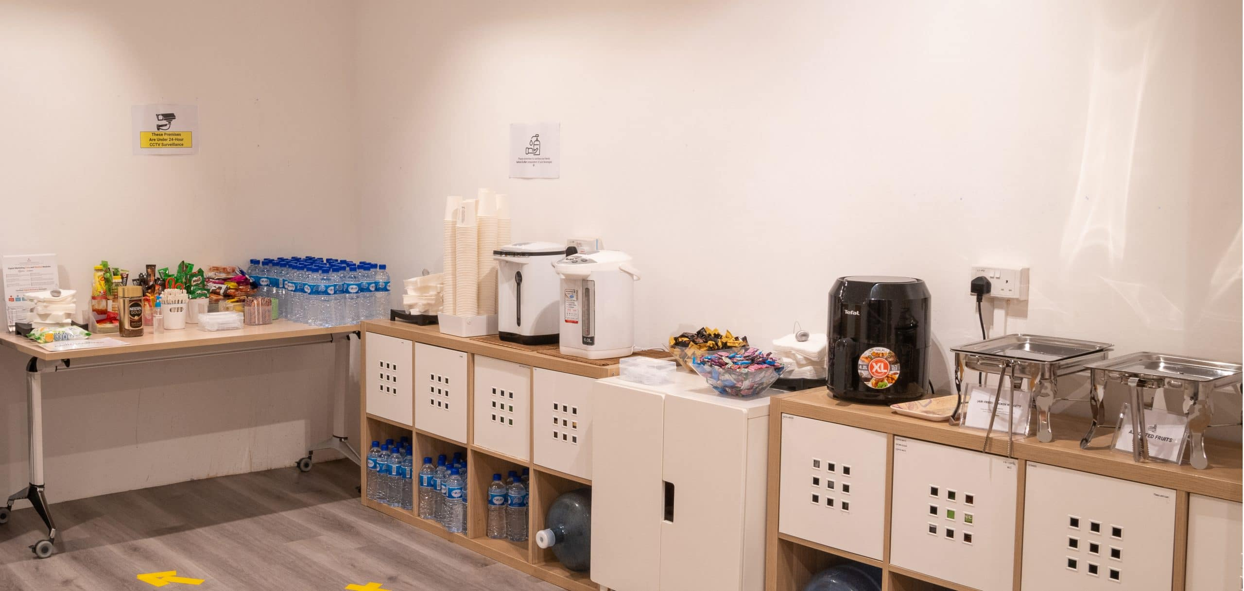 Pantry Equinet Academy Training Facilities