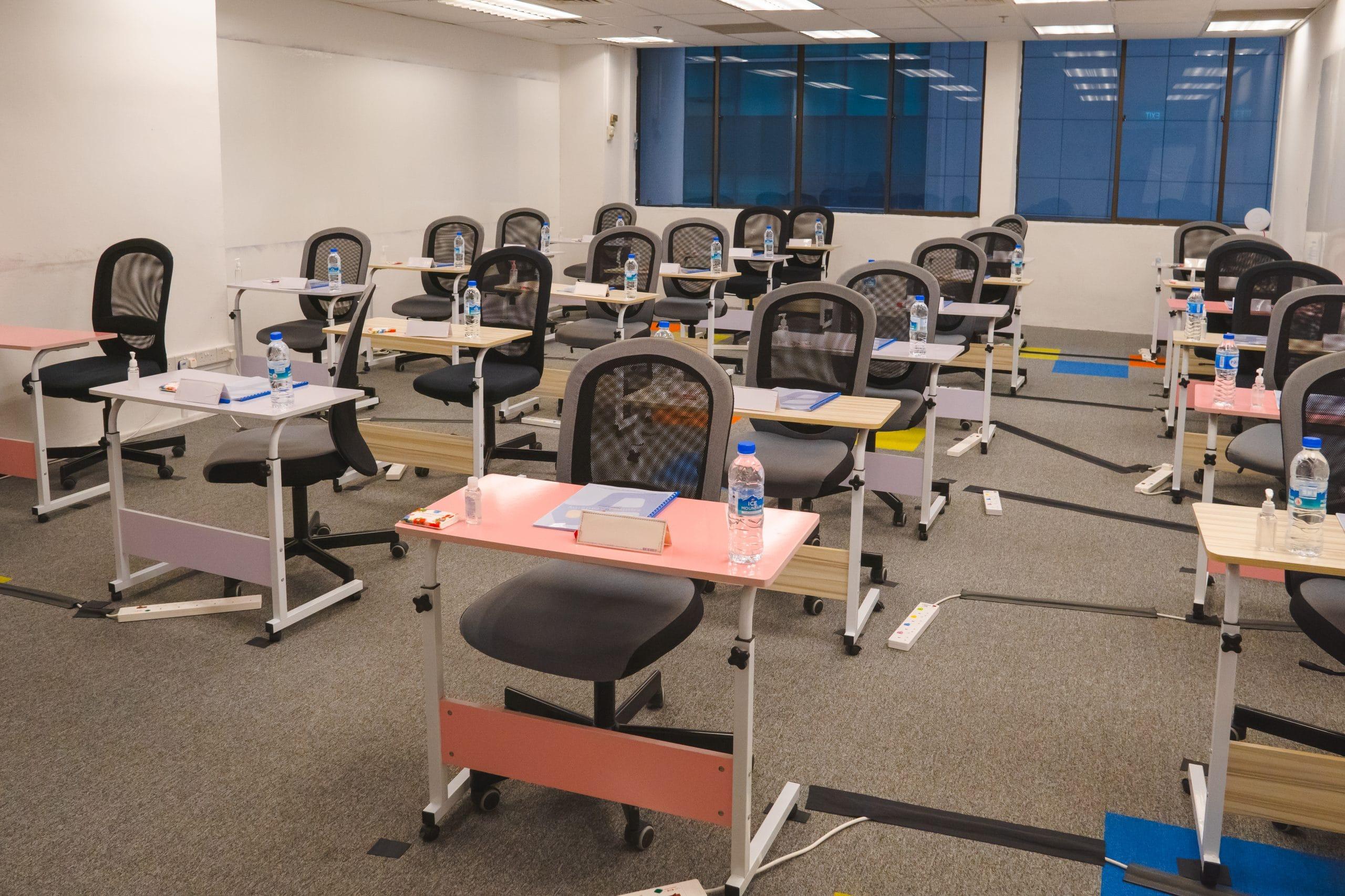 Classroom A Training Facilities