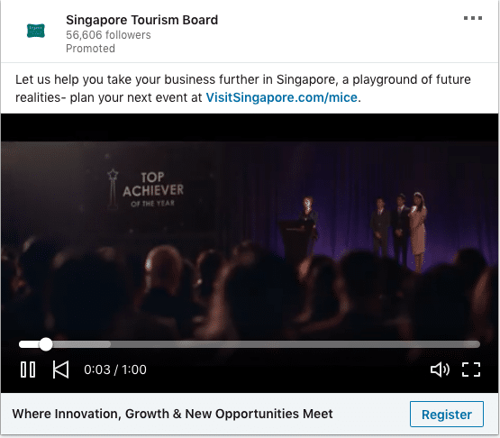 Singapore Tourism Board ads on Business Opportunities in Singapore