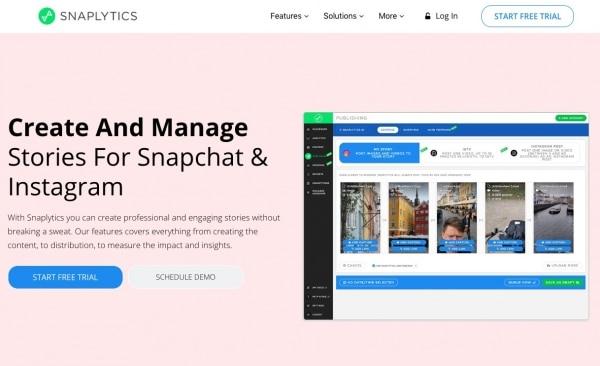 Social Media Analytics Snaplytics tool