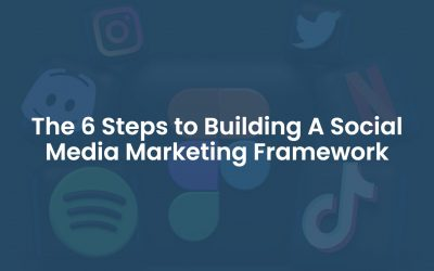 The 6 Steps To Building A Social Media Marketing Framework