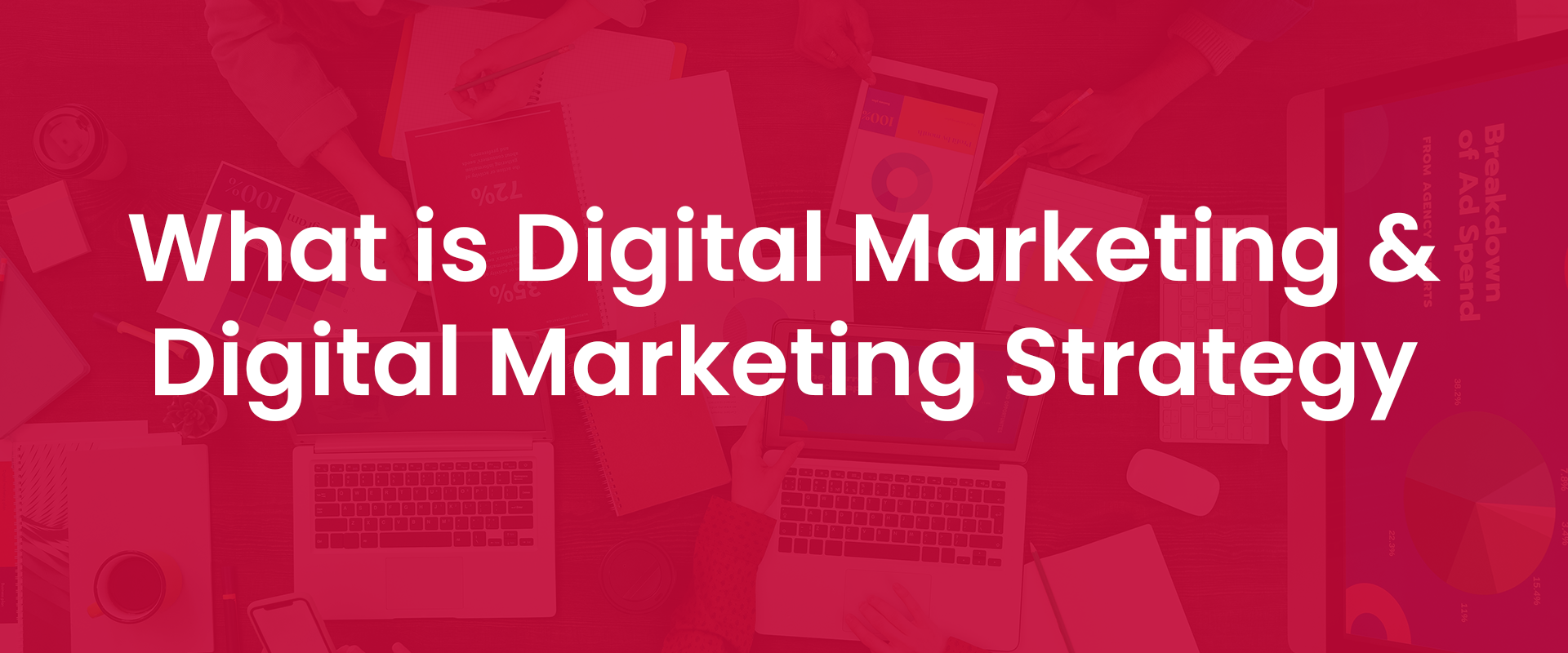 What is Digital Marketing & Digital Marketing Strategy cover