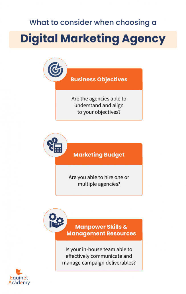 What to consider when choosing a digital marketing agency