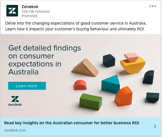 Zendesk ads on Business ROI