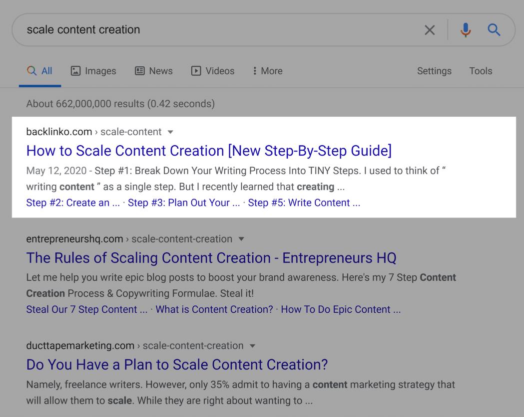 google-serp-meta-description