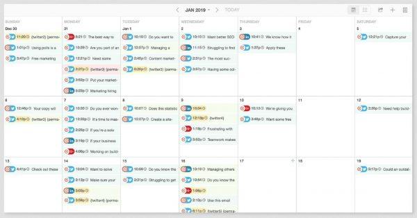 coolerinsights social media content calendar