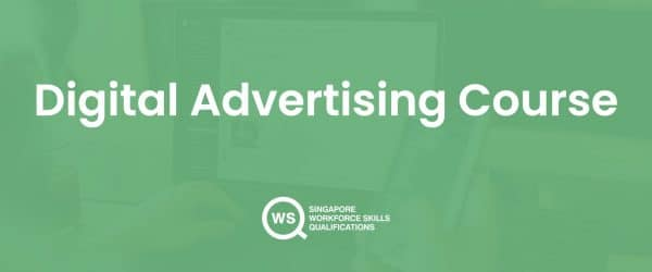 Digital advertising course cover