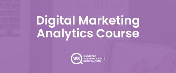Digital marketing analytics course cover