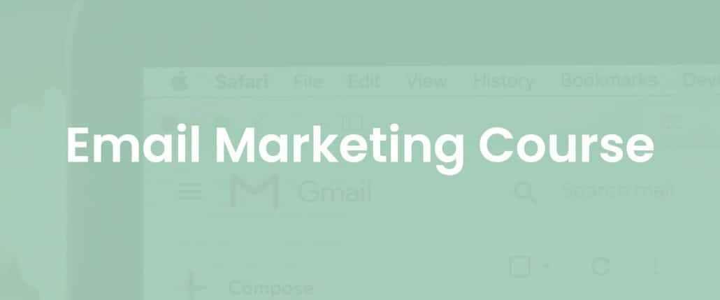 Email Marketing course cover