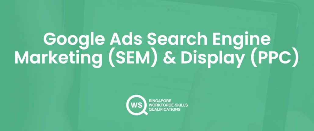 Google ads search engine marketing and display course cover