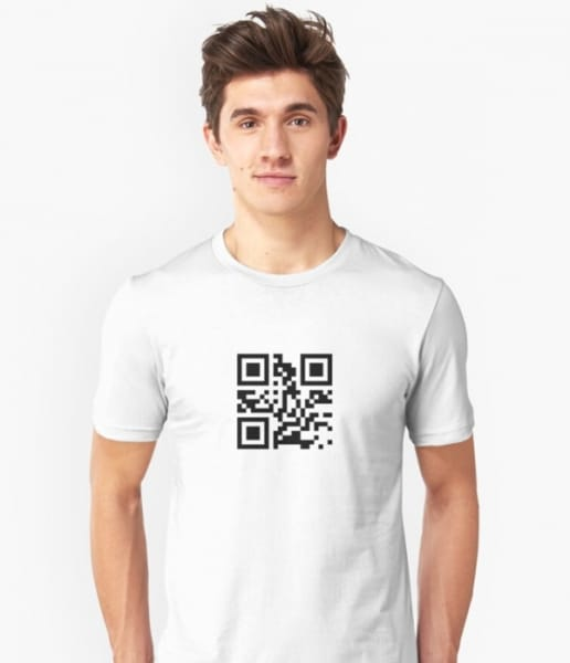 qr codes shirt