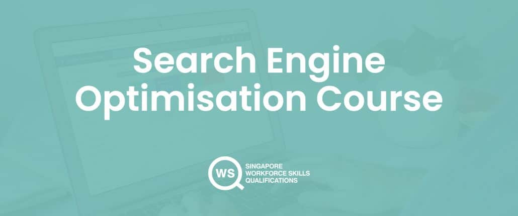 Search engine optimisation course cover