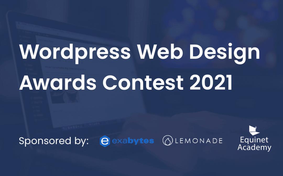 WordPress Web Design Awards Contest 2021