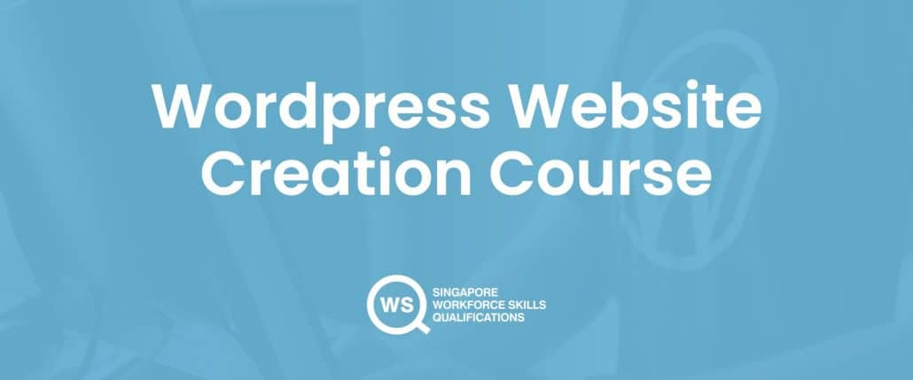 Wordpress website creation course cover
